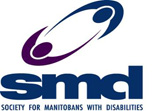 logo for Society for Manitobans with disabilities